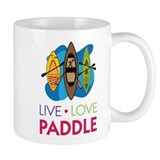 Live Love Paddle Small Mug