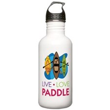 Live Love Paddle Water Bottle