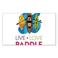 Live Love Paddle Decal