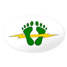 Green Feet - PJ Decal