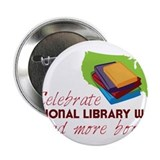 "Library Week 2.25"" Button"