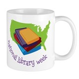 National Library Week Mug