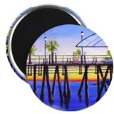 Redondo Beach Pier Magnet