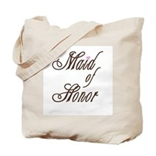 Classy Browns Maid of Honor Tote Bag