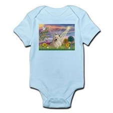 Cloud Angel/Westie #1 Infant Bodysuit