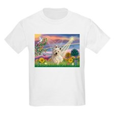 Cloud Angel/Westie #1 T-Shirt