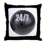 Bowling 24/7 Throw Pillow