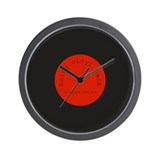 Bring Vinyl Back | Wall Clock