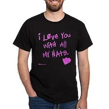 All My Hate Dark T-Shirt