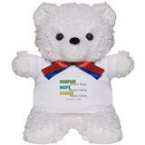 Hospice 2013 hope green blue.PNG Teddy Bear