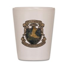 Montresor Coat Of Arms Shot Glass