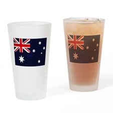 Australian Grunge Drinking Glass
