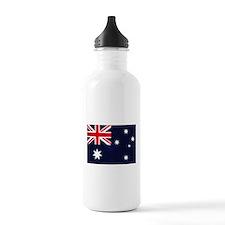 Australian Grunge Sports Water Bottle