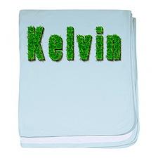 Kelvin Grass baby blanket