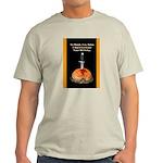 Satan's Birthday Ash Grey T-Shirt