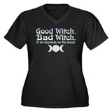 Good Witch, Bad Witch... Women's Plus Size V-Neck