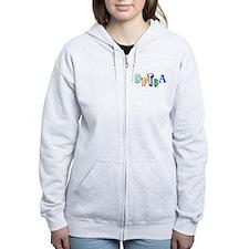 DFTBA - Colorful Zip Hoodie