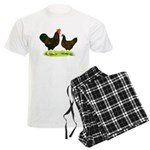 Barnevelder Chickens Men's Light Pajamas