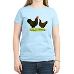 Barnevelder Chickens Women's Light T-Shirt