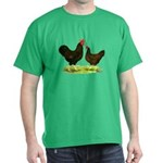 Barnevelder Chickens Dark T-Shirt