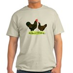 Barnevelder Chickens Light T-Shirt