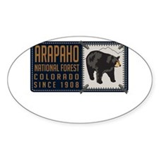 Arapaho Black Bear Badge Decal