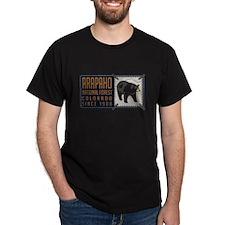 Arapaho Black Bear Badge T-Shirt