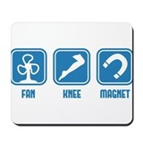 Fanny Magnet (Fan - Knee - Magnet) funny design Mo
