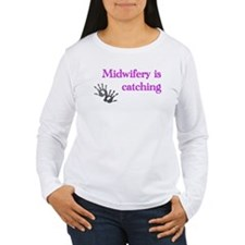 midwiferyiscatching.jpg Long Sleeve T-Shirt