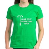 Lamp Post Inspection Team Tee
