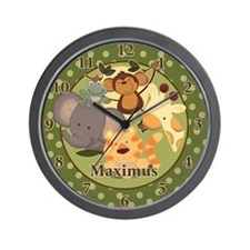 Jungle Safari Wall Clock - Maximus
