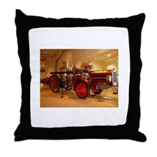 1904 Steam Fire Truck Throw Pillow
