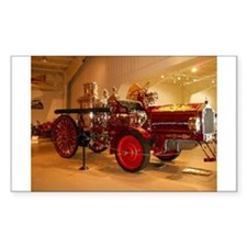 1904 Steam Fire Truck Decal