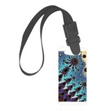 Shooting Stars Fractal Luggage Tag