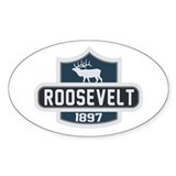 Roosevelt Nature Badge Decal