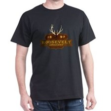 Roosevelt National Park Crest T-Shirt