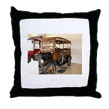 Jungle Wagon Throw Pillow