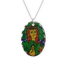 St. Dymphna Charm Necklace