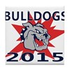 Bulldogs 2014 Tile Coaster