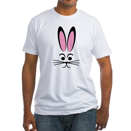 Bunny Face Fitted T-Shirt