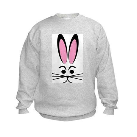 Bunny Face Kids Sweatshirt