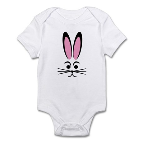 Bunny Face Infant Bodysuit