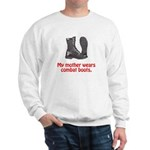 Sweatshirt: My Mother Wears Combat Boots