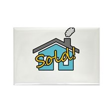 House Sold! Rectangle Magnet