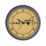 inanna-cuneiform_cl.jpg Wall Clock