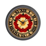 tudor-rose_cl.jpg Wall Clock