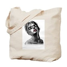 Not Your Bitch, Not Your Baby Tote Bag