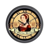 catherine-howard-2_cl.jpg Wall Clock
