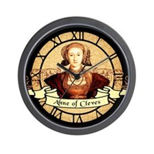 Anne Of Cleves Wall Clock