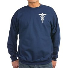 Medical Symbol Caduceus Sweatshirt